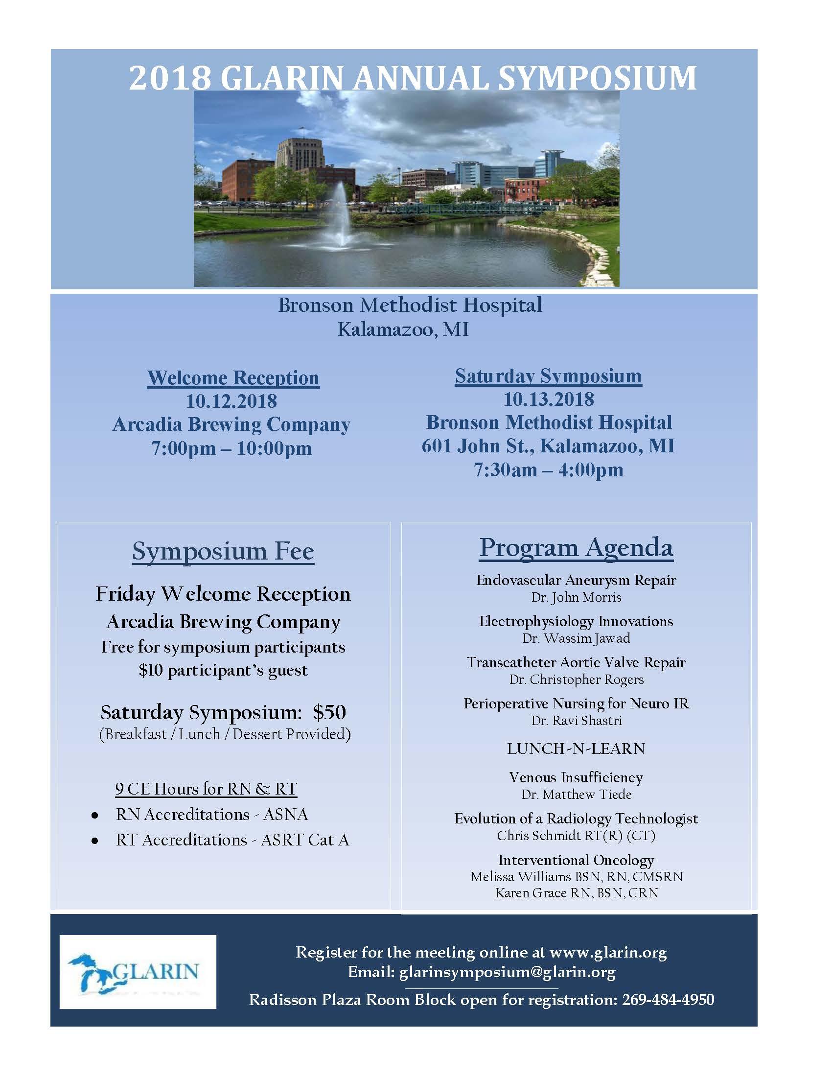 2018 GLARIN Annual Symposium - The Association for Radiologic