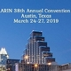 Call for Abstracts for the ARIN 2019 Annual Convention